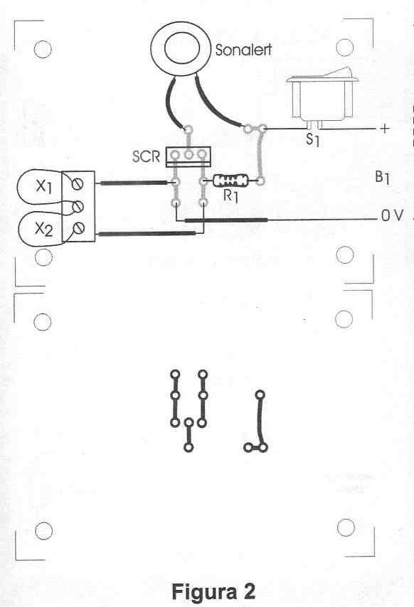 Circuito Com Scr Tic 106 : Circuito antifurto