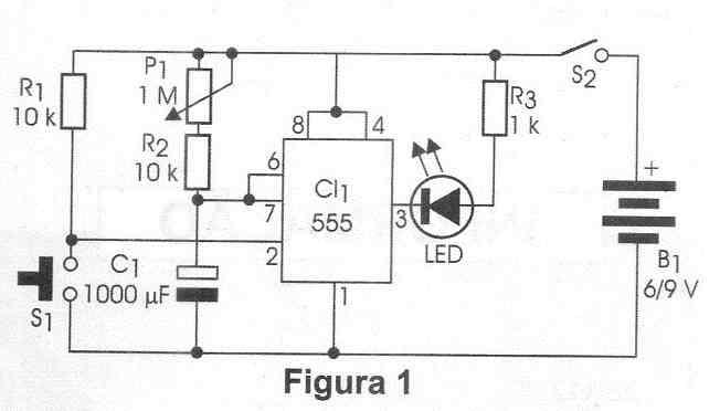micro timer com ci 555