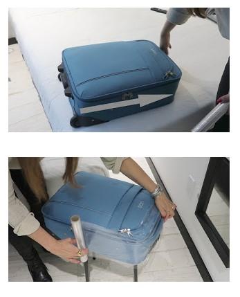 embalando malas para viagem
